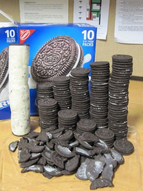 If this isn't how you eat Oreos, you're doing it wrong.