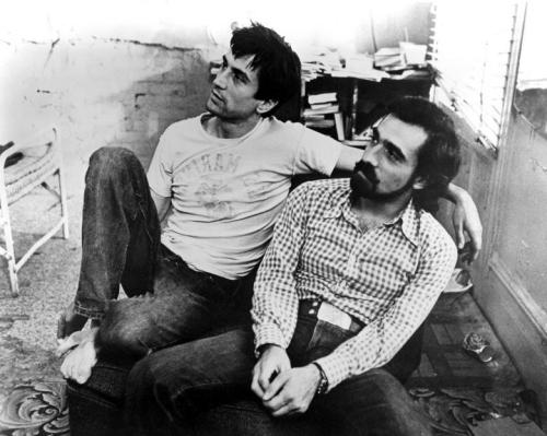 awesomepeoplehangingouttogether:  Robert De Niro and Martin Scorcese