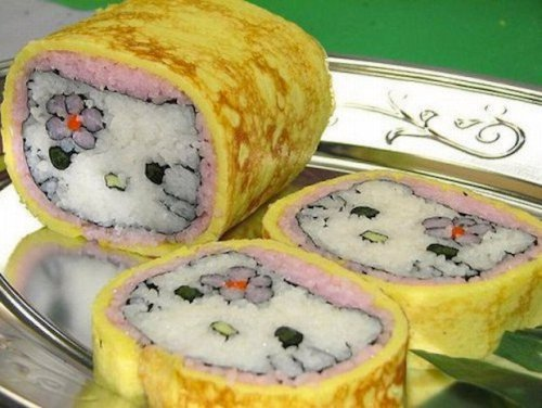 Hello Kitty Sushi?? Yes Please.