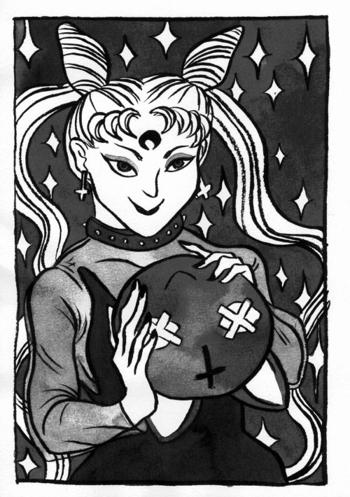 laurark:  Wicked Lady. These were my contributions to Vreni's Sailor Moon zine.   Awesome submission from the first issue!