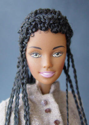 Natural hair barbies!!  by Loanne Hizo Ostile ♥