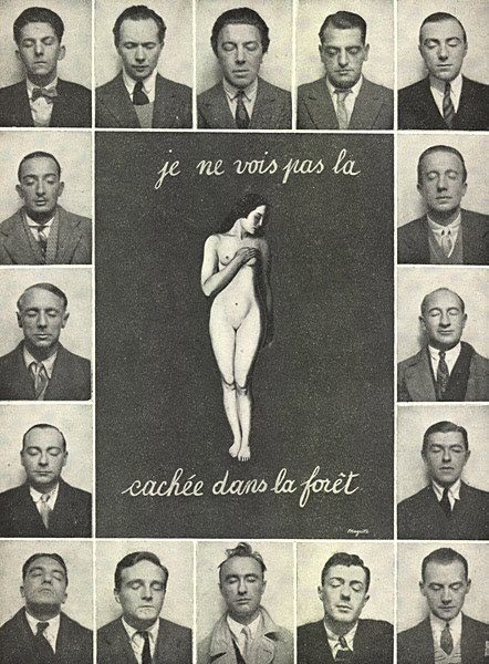 oliviamosley:  André Breton and the surrealists via photo booth.