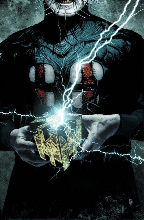 Hellraiser #4 : By Tim Bradstreet