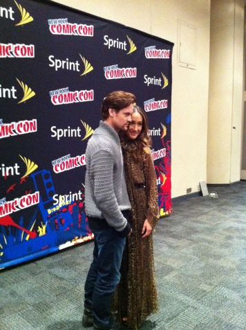 #NYCC Shane West and Maggie Q via @JeffTobler