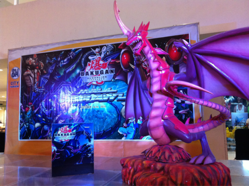 Toy Kingdom brings in BAKUGAN to SM City Fairview!