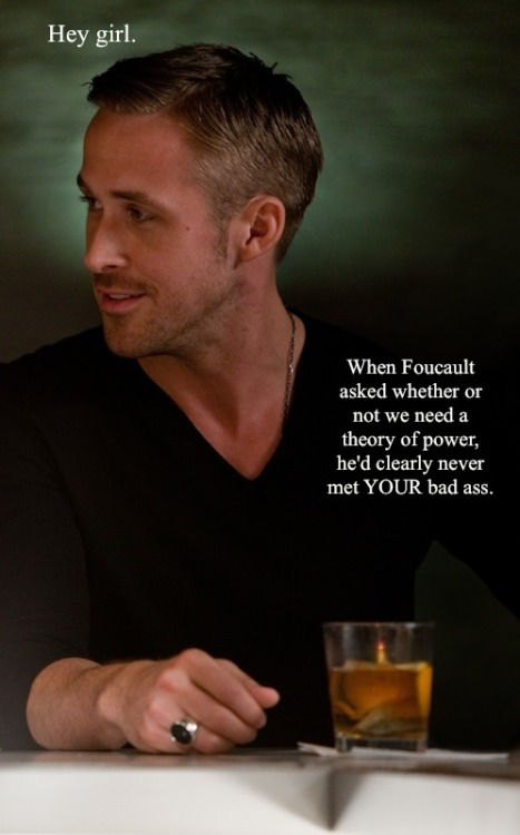 Feminist Ryan Gosling may in fact be my most favorite thing ever.