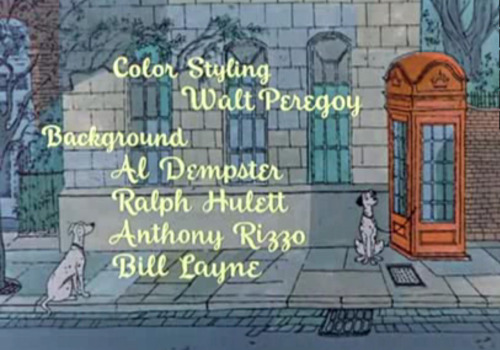 So… I was watching 101 Dalmatians… and I'm pretty sure that's the DARSIT in the opening credits.  I think it shows up later too.  Inspector Spacetime references anyone?