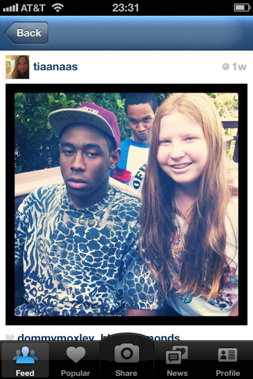 Oh man, this is hilarious! bkgaspard:  When I look up OFWGKTA on Instagram and 90% of the posts saying how much they love OF are from little 13 year old girls like this, I think it's safe to say they're too trendy now.