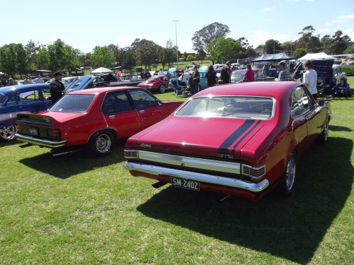 chromencurves:  This HK (I think - possibly HT) GTS Monaro was soooooo nice - Had the most pristine and spotless interior I've ever seen.