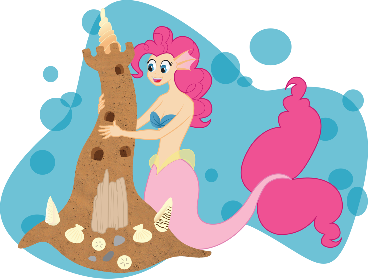 My Little Mermaid: Pinkie Pie