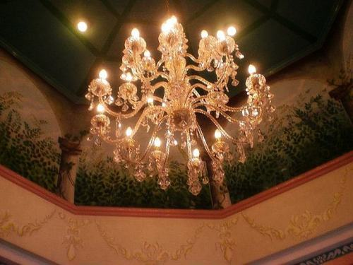 decorative ceiling-mounted light fixture