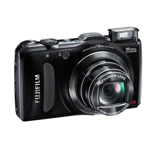 Fuji F600 EXR £317.33 £247.82 16 megapixel EXR-CMOS sensor15 x optical zoom covering 24-360mmHD Movie (1080p)3.0 inch LCD CMOS Shift Image StabilisationGlobal Positioning System360 Degree Panoramic ModeRAW shooting This camera is fuji's newest camera. Its good in low light conditions and packs some nice features. The 360 degree panoramic mode is great for landscapes and the camera also packs a GPS system like the Panasonic TZ20. The Cameras specifications are very similar to the TZ20 with the F600 having slightly more megapixels but slightly less zoom. The TZ20 tips it though with the Leica lens and being £20 less! Click The Pic To See More!