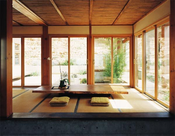japanese style living room via