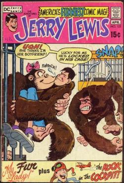 Adventures of Jerry Lewis  #123