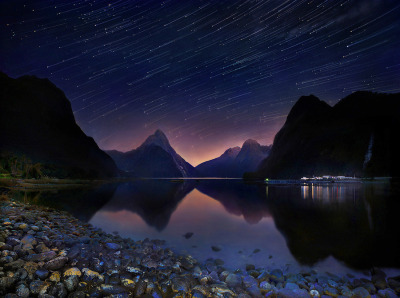 "(via 500px / Photo ""Milford sound, NZ"" by Weerapong Chaipuck)"