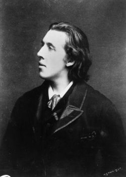 "i12bent:  Oscar Wilde (Oct. 16, 1854 - 1900), gay playwright, novelist and wit… Always remember: ""Art is the only serious thing in the world. And the artist is the only person who is never serious."" And most importantly:  ""Everything popular is wrong."" Happy birthday, dear Oscar!"
