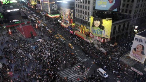 Occupy Time Square.