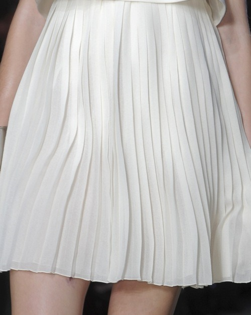 pretty pleats.