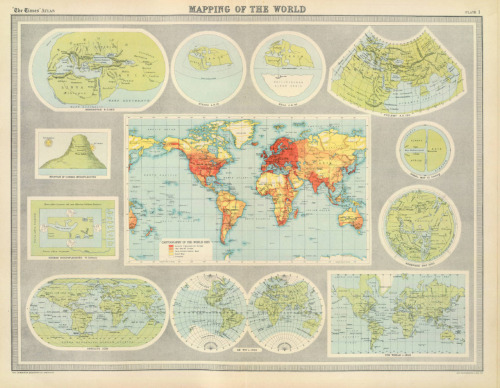 John George Bartholomew, 1922, Mapping of the World
