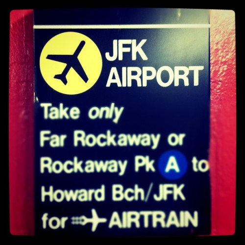 JFK-bound to see #ohny of TWA's Terminal 5 (Taken with instagram)