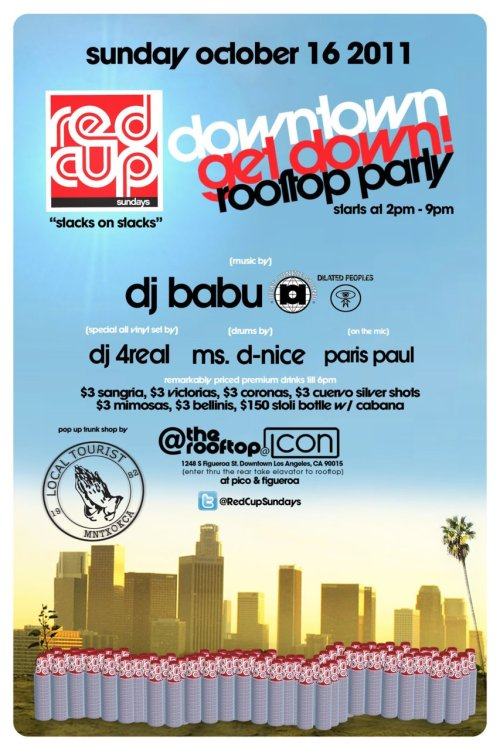 come out today 2-10pm, DJ BABU spinning! (dialiated peoples foolie!!!) its gonna be fuuun! say local tourist at the door!