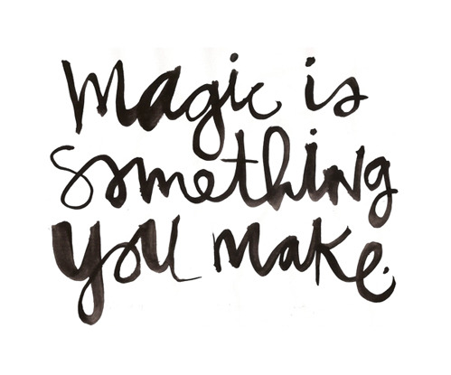 nevver:  Make magic