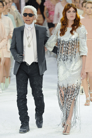 Best couple ever. Chanel Spring 2012