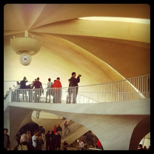TWA Terminal at JFK. #NYC  #ohny #airport (Taken with Instagram at TWA Flight Center (JFK))