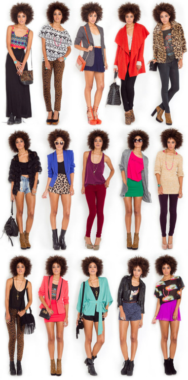 Some pretty cools looks to compliment an afro!