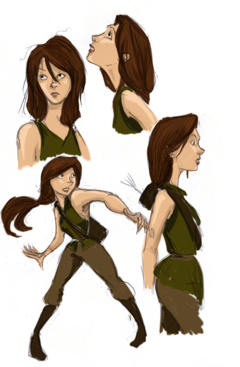 sugi-lite:  Katniss Everdeen Studies ~ by *Ratgirlstudios  Hey this is a blast from the past… did I really just say that?  I did these a long time ago in a galaxy far far away.  Someone else liked it and posted in on tumblr so I figured I'd reblog it. It really shows how much my style has changed, especially in how I draw Katniss now.