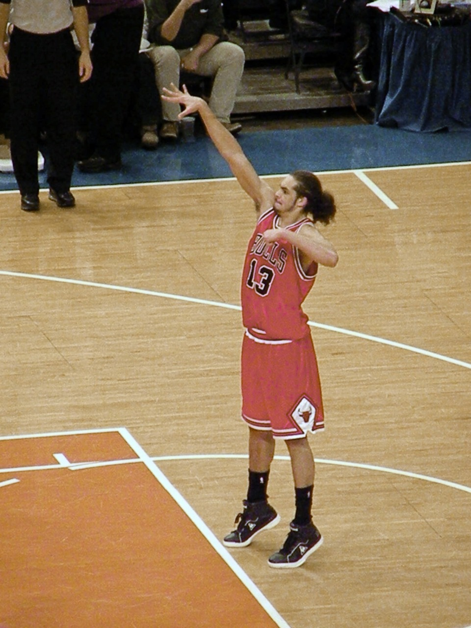 Great Moments in Awkward Free Throw History: Joakim Noah