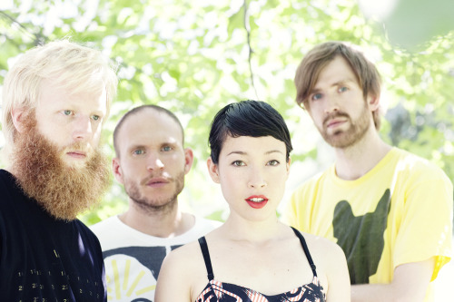 Shot Little Dragon for OUT's latest issue.  Go listen to them NOW.