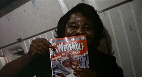 maisonimmonen:  #41: James Brown reads comics, When We Were Kings, 1996.