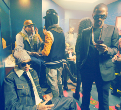 Breezy,Fly Guy&Big Sean.