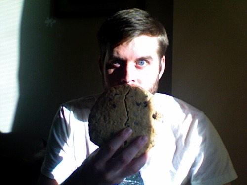 My giant cookie is breaking. Still the best $2.95 I've spent