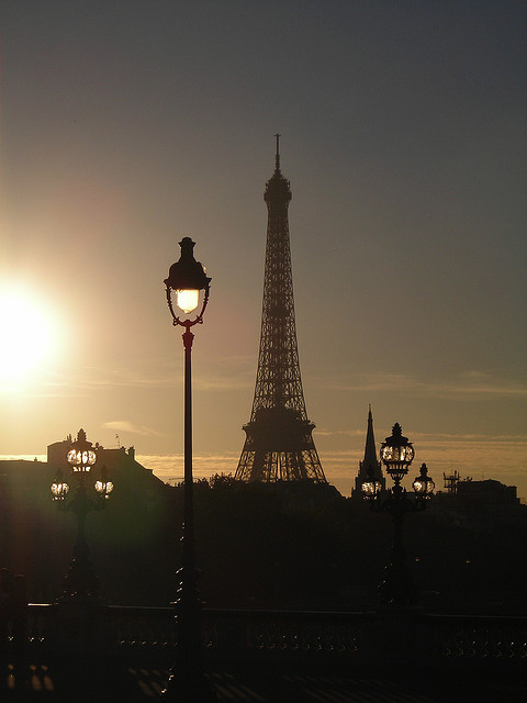 Paris, Eiffel tower by the_crow_19_78 on Flickr.