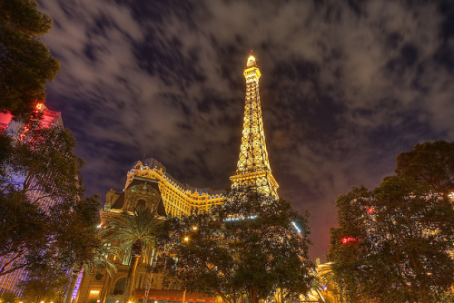 Eiffel Tower HDR by Dave Toussaint (www.photographersnature.com) on Flickr. There's always time for the Vegas Eiffel?