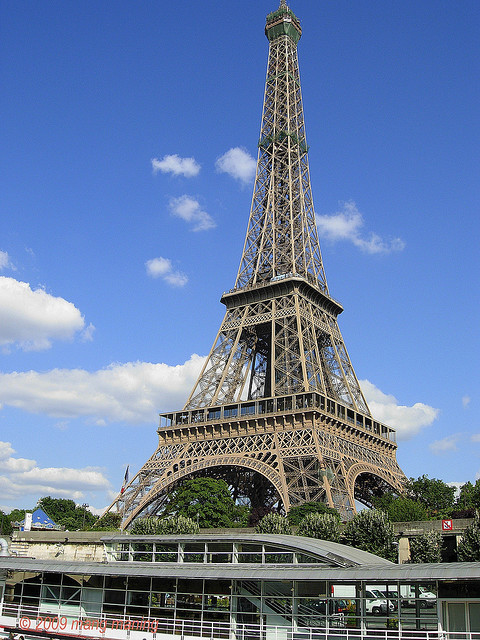 EIFFEL TOWER ~ PARIS  (HMB) by mang M on Flickr.