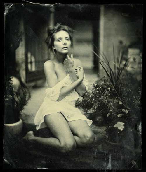 brookelynne:  Brooke Lynne - Mark Sink Collodion Wetplate There's such a story in this photograph. Perhaps one day I will write it.