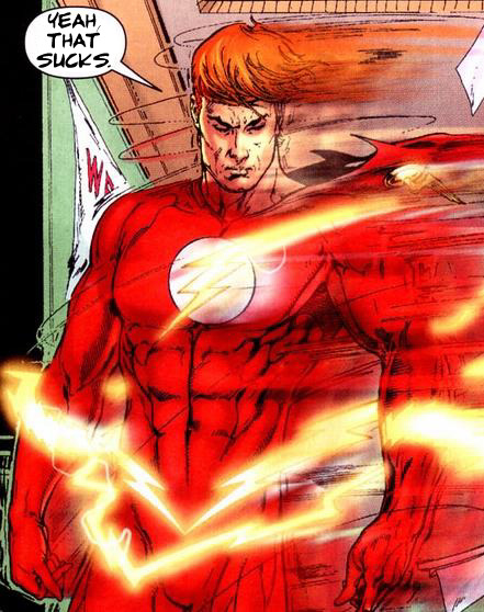 Who is Wally West? One of the only comic book characters to not only serve as a sidekick, but one of the few to inherit the mantle of his mentor and completely outshine his predecessor. Who is Wally West? A loving nephew. A great friend. A veteran hero. A mentor to many. Someone who went through hell and back and saved the world many times over and never did things for selfish reasons. Who is Wally West? Husband and father of two. Wise-cracking, yet mature. Knowledgeable of the tradition and legacy he held dear and kept alive for a generation of readers and animation fans. Who is Wally West? The fastest man alive. Despite what DC Comics thinks.