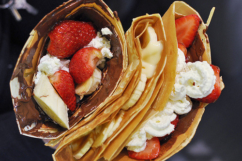 Assorted Dessert Crepes