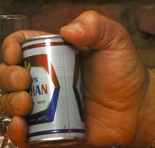 Here's what a beer can looked like in the hand of wrestling legend, Andre the Giant. Read more…