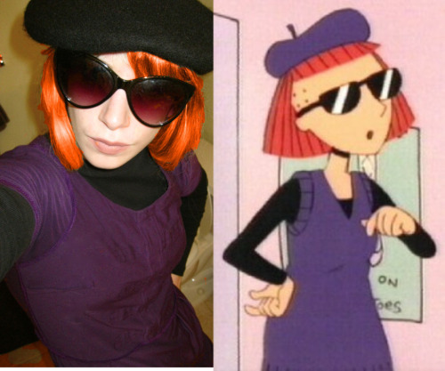 Judy Funnie for Halloween. OH BRAVE NEW WORLD THAT HAS SUCH PEOPLE IN IT.