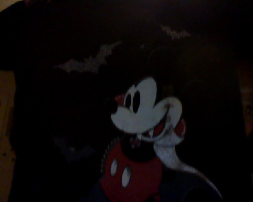Also got this at the Disney Store, Vampire Mickey. Gonna wear it at the park…omg I can't believe I'm gonna be there in a week!!!! I leave Friday!