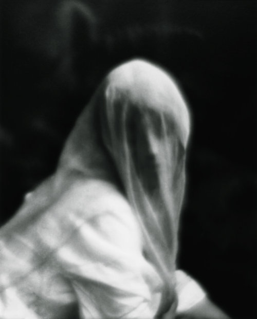 Imogen Cunningham *, Veiled Woman, 1910/1975 / The Unseen Eye: Photographs from the Unconscious (Aperture, 2011) by W.M. Hunt * from La Lettre