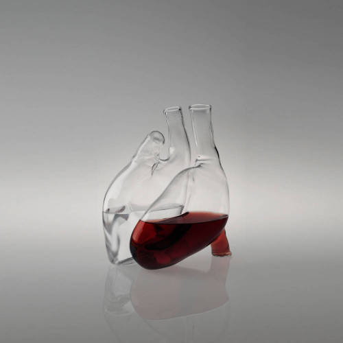 As if I didn't already have a drinking problem. Wine carafe by Paola Cuore