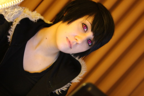 Sylar: I spent a majority of this weekend taking 700 + photos of an Izaya cosplay who, in my personal opinion, dominates the role and the look completely. This weekend without Sheila was depressing beyond belief, especially with her away as NYCC. Still, I had an amazing time this weekend with this Izaya and her Shizuo. In the picture featured in this post, you can see the amazing and beautiful Rin. She has a tumblr of her own, http://thirteen-forty-two.tumblr.com Everyone be sure to go follow and look out for more photos on here, and mostly on her Tumblr and deviantart, which I shall link when I get it ^^