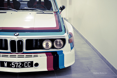 automotivated:  BMW 30 CSL (by Mathieu Bonnevie )