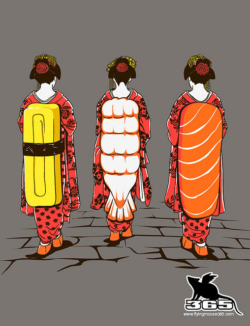 flyingmouse365  D-Series 051 - Sushi Ladies on Flickr.