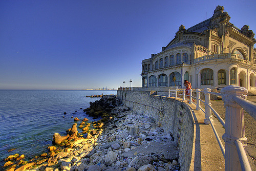The Casino de Constanza, on the Black Sea in Romania (by Chodaboy)